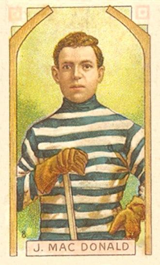 Jack McDonald (ice hockey) - McDonald with the Quebec Bulldogs.