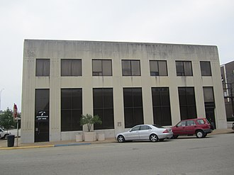 Jacksonville, Texas - Former bank building that previously housed Jacksonville's City Hall
