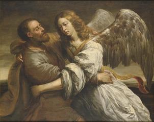 Jacob Fighting the Angel