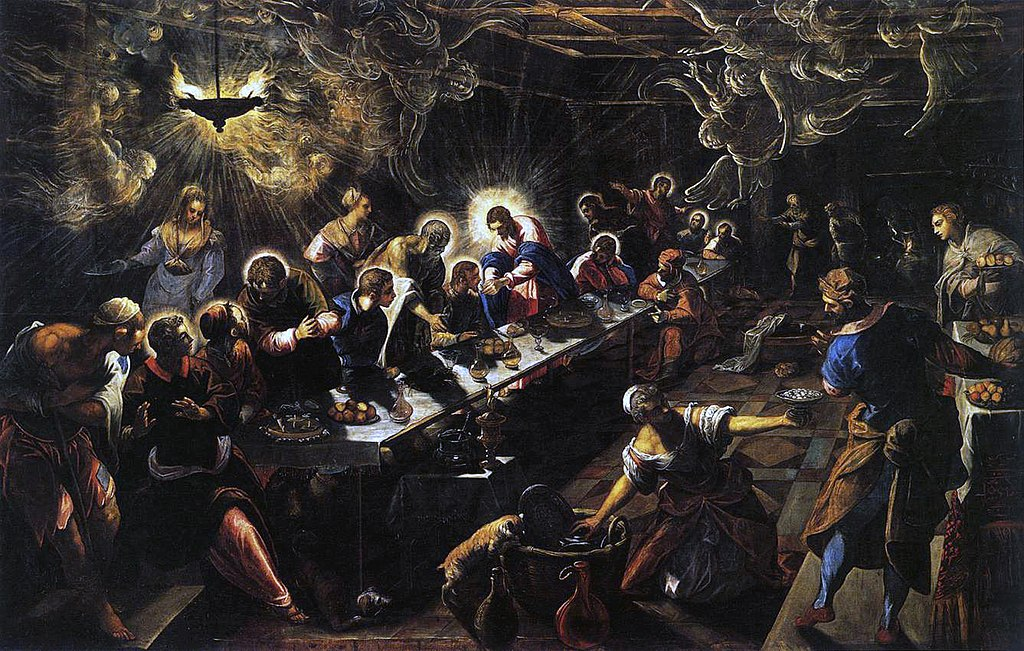 Jacopo Tintoretto - The Last Supper - WGA22649.jpg