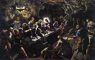 Jacopo Tintoretto - Last Supper, 1592 -1594
