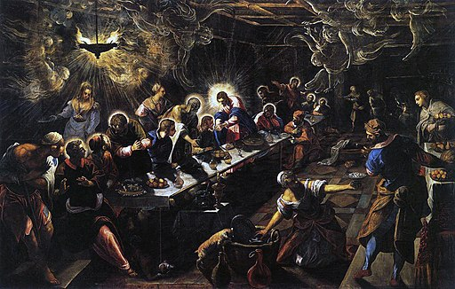 Jacopo Tintoretto - The Last Supper - WGA22649