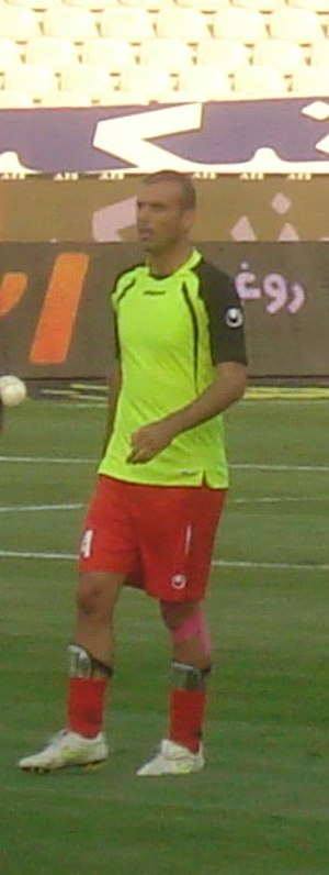 Jalal Hosseini - Hosseini training with Persepolis