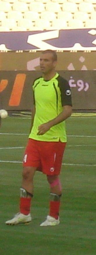 Jalal Hosseini - Hosseini training with Persepolis