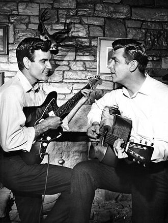 James Best - Best with Andy Griffith on CBS's The Andy Griffith Show (1961)