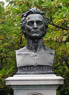 James Clarence Mangan Irish poet