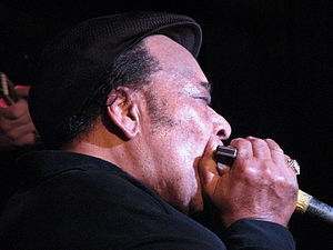 James Cotton - Cotton at Jeff Healey's blues nightclub in Toronto