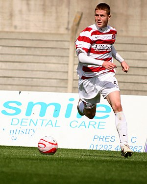 James McCarthy (footballer) - McCarthy playing for Hamilton Academical in 2009