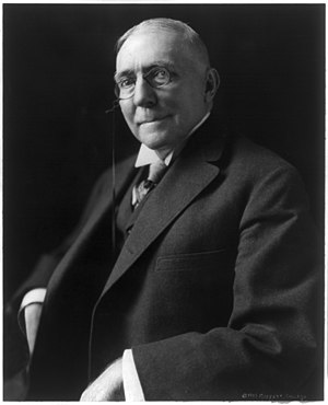 James Whitcomb Riley, 1849-1916, half-length p...