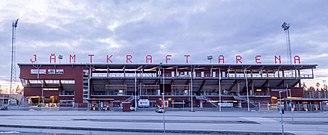 Östersunds FK - Image: Jamtkraftarena 1