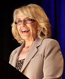 Jan Brewer, en 2013.