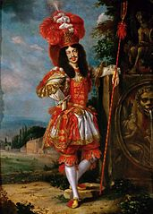 Leopold I as Acis in the play La Galatea\