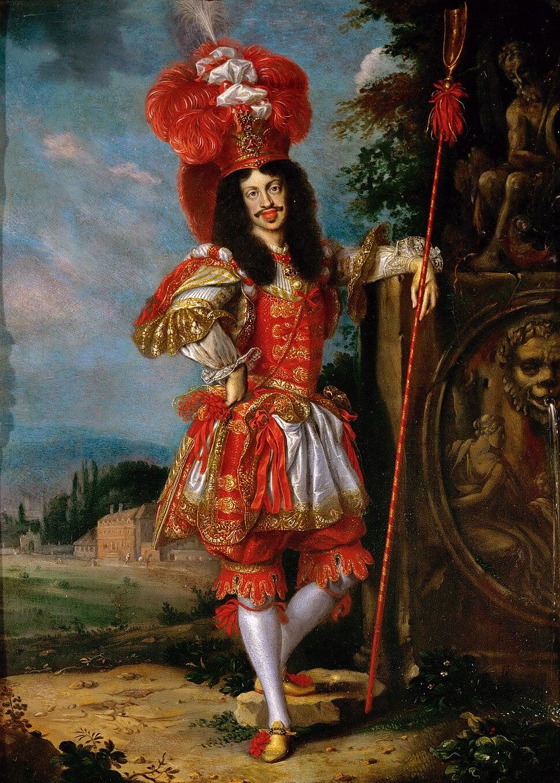 "Jan Thomas - Leopold I as Acis in the play ""La Galatea"""