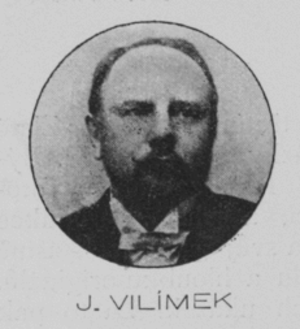 Jan Vilímek - Jan Vilímek, from Zlatá Praha (issue of 16 January 1903)