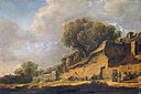 Jan van Goyen - Landscape with a Peasant Cottage - WGA10179.jpg