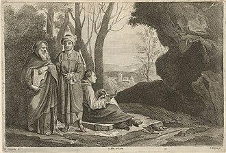 The Three Philosophers - Image: Jan van Troyen Three Philosophers SVK SNG.G 11965 21