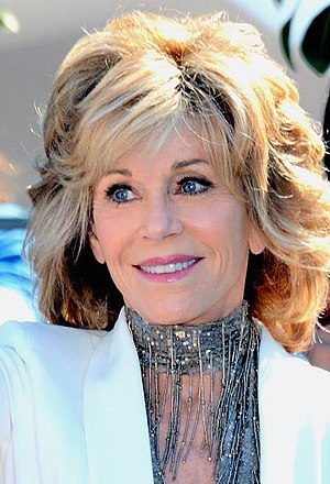 Jane Fonda won three times from five nominations for her roles in Klute (1971), Julia (1977), and Coming Home (1978). Jane Fonda Cannes 2015.jpg