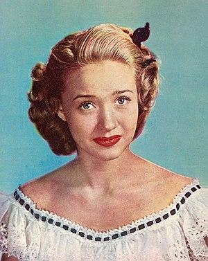 Jane Powell - Studio headshot, 1948