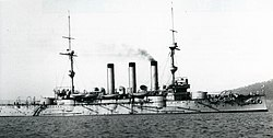 Japanese cruiser Iwate at Plymouth