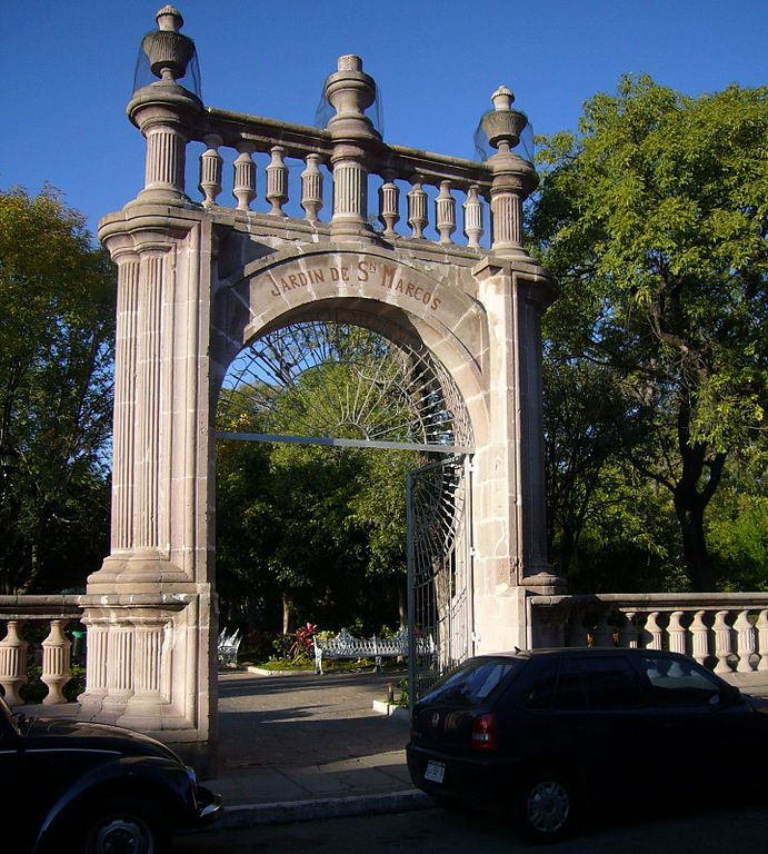 Archivo jard n san marcos sur wikipedia la for Puerta 3 de san marcos