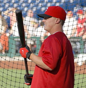 Jay Bruce - Bruce with the Reds