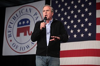 Jeb Bush - Bush speaking in Iowa, 2016