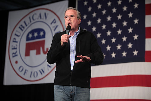 Bush speaking in Iowa, 2016 Jeb Bush (22709849565).jpg