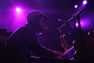 The Low Anthem - Ben Knox Miller, at End of the Road Festival, 2010.