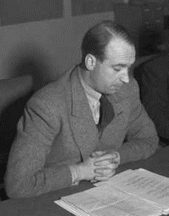 Jens Christian Hauge - Jens Christian Hauge as Minister of Defence in 1947.
