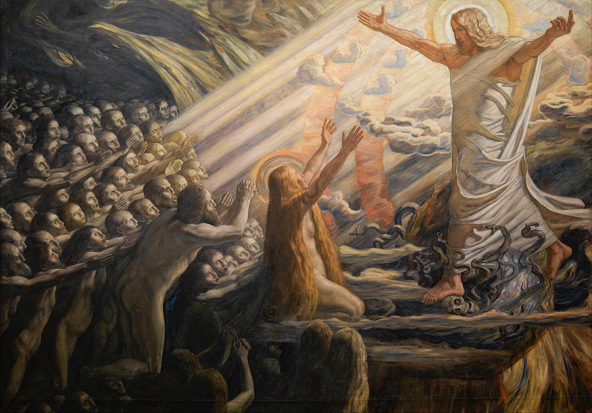 File:Joakim Skovgaard - Christ in the Realm of the Dead - Google Art  Project.jpg - Wikimedia Commons
