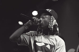 Joey Badass - Joey Badass performing in June 2012.