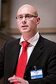 Johan Linander, Centerpartiet (c) Sverige,talar vid Nordiska Radets session i Helsingfors 2008-10-27.jpg