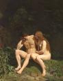Johan Vilhelm Gertner - Adam og Eva efter Syndefaldet.png