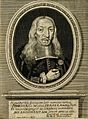 Johann Michael Fehr. Line engraving by J. A. Boener, 1683. Wellcome V0001883.jpg