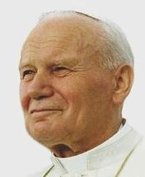 Pope John Paul II on 12 August 1993 in Denver, Colorado