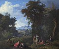 Johannes Glauber (1646-1727) - Classical Landscape with Diana and Her Nymphs Resting after the Chase - 1401155 - National Trust.jpg