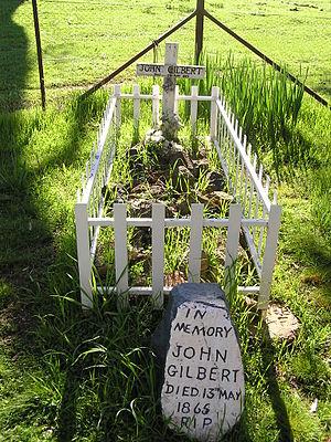 John Dunn (bushranger) - Gilbert's grave near Binalong