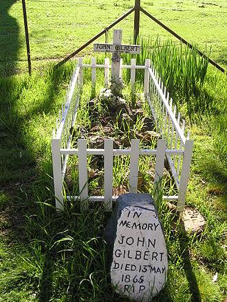 John Gilbert (bushranger) - Gilbert's grave near Binalong