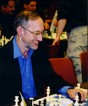 John L. Watson - John Watson at the 2003 U.S. Chess Championships in Seattle, Washington