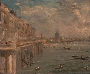 Somerset House Terrace from Waterloo Bridge