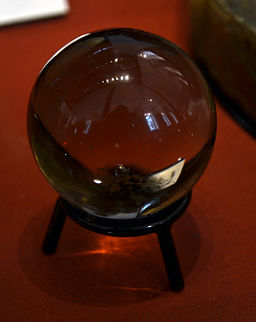 John Dee's crystal ball British Museum 26 07 2013