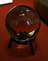 John Dee's crystal ball British Museum 26 07 2013.jpg