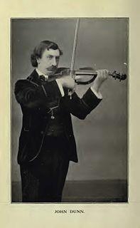 John Dunn (violinist) English violinist