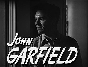 The Postman Always Rings Twice (1946 film) - John Garfield from the trailer for the film