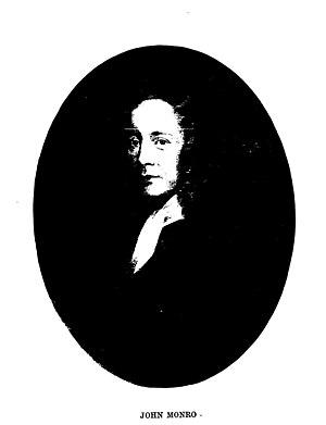 Munro of Auchinbowie - John Munro (Monro) the surgeon of Edinburgh University