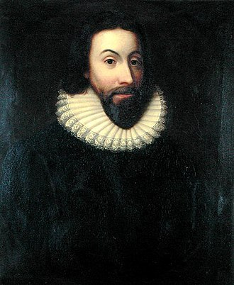 History of the Puritans in North America - John Winthrop (1587/8-1649), Governor of the Massachusetts Bay Colony, who led the Puritans in the Great Migration, beginning in 1630.