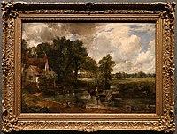 John constable, il carro di fieno, 1821, 01.jpg