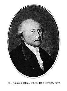 john gore royal navy officer died 1790 wikipedia