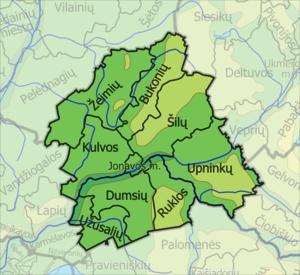 Jonava District Municipality - Image: Jonavos Rajono Seniunijos
