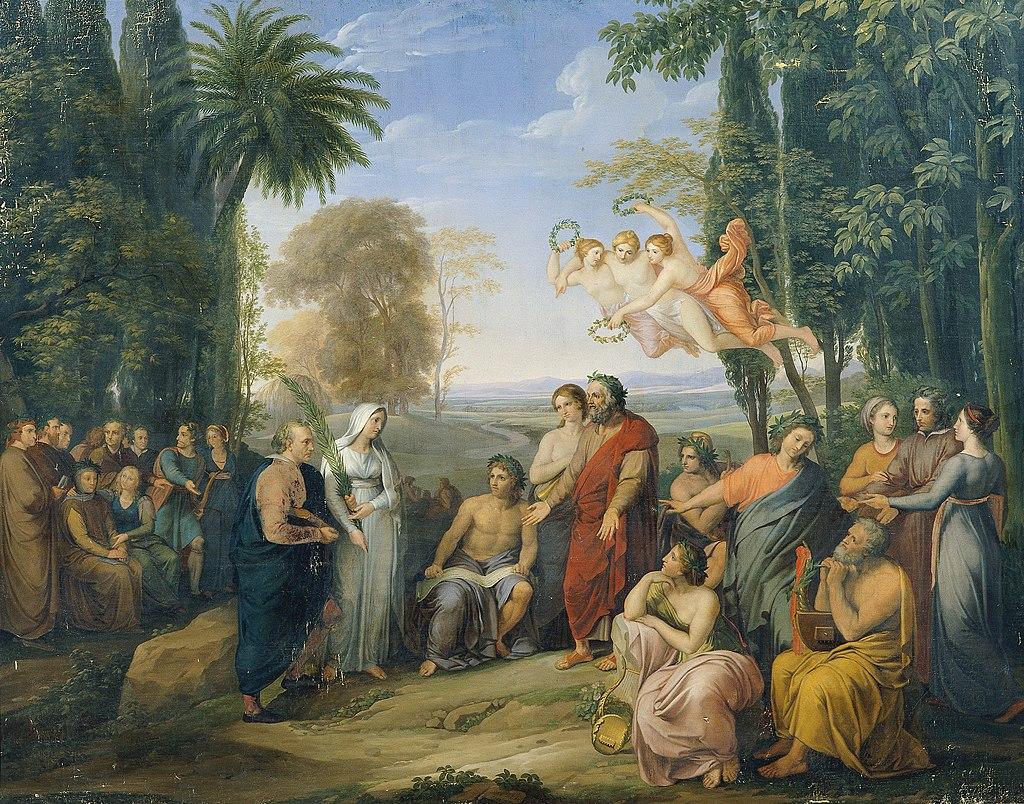 Josef Abel - Klopstock unter den Dichtern im Elysium - 3641 - Österreichische Galerie Belvedere.jpg